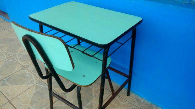 Cadeiras e Mesas Escolares de Fórmica Usadas em Alvorada - Foto 3