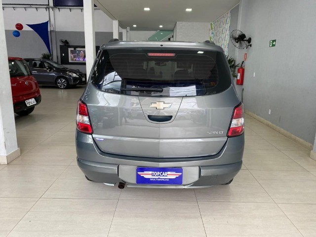 Chevrolet Spin Lt 1.8 Automática 2014 Cinza - Foto 9