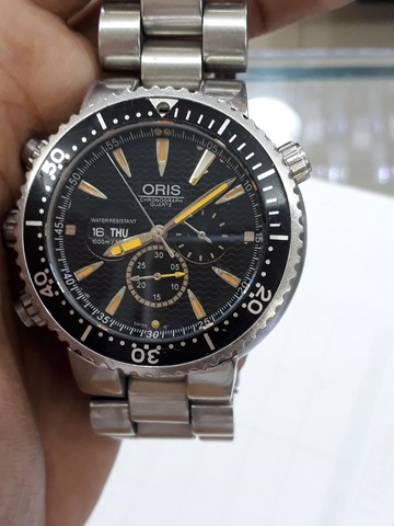 Relógio Oris Carlos Coste Chronograph Limited Edition