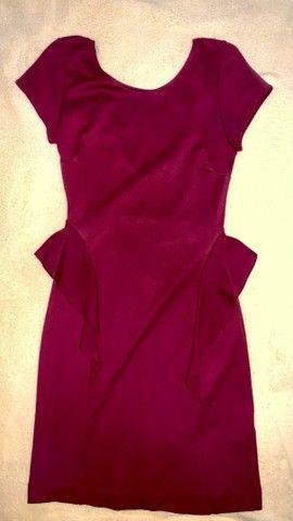 Vestido curto Zara