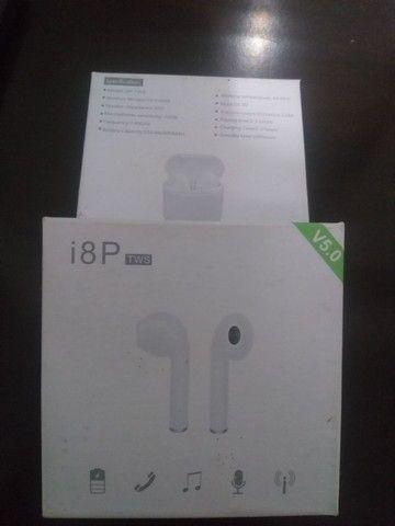 Fone de ouvido bluetooth i8P