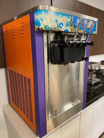 Máquina de sorvete expresso, italiano, Logro Soft L22A - Foto 2