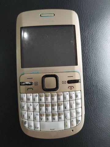 Celular rádio Nokia C3