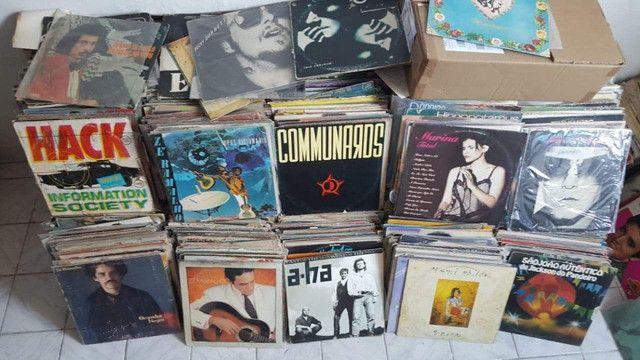Vendo Lote de 2000 Discos Vinil LP bom estado de conservação - Foto 2