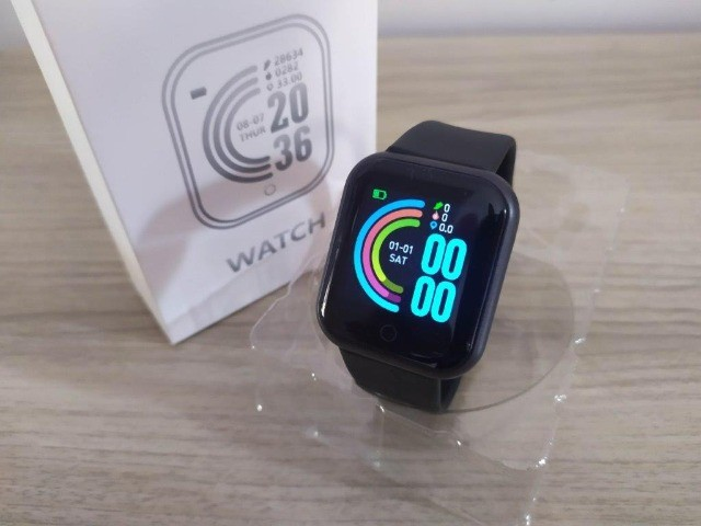 Relógio Smartwach D20 Preto - Foto 4