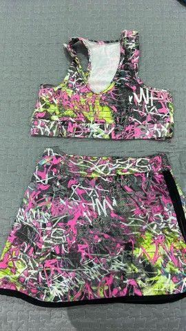 Calças leggings para academia, tops e conjunto  - Foto 4