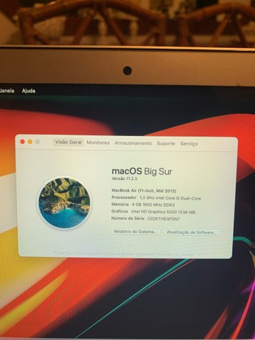 """Macbook air 11"""" 2013 - Foto 4"""