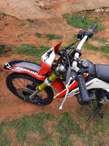Moto trilha preparada ibiuna sp  - Foto 4