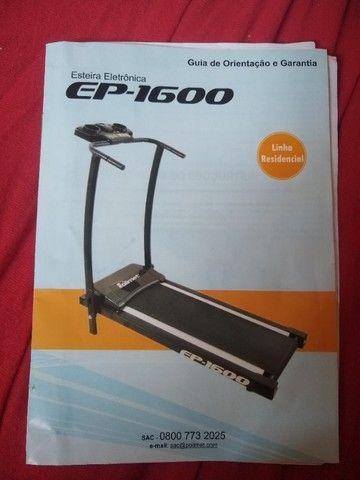 Esteira Eletrônica EP-1600  - Foto 2