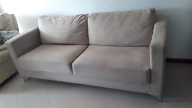Sofa. Dóis metros e dez de comprimento. - Foto 2