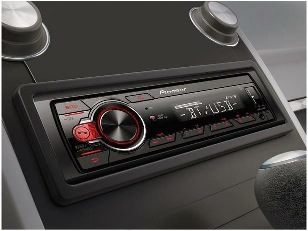 Som Automotivo Pioneer MP3 Player Rádio AM/FM - Bluetooth USB Auxiliar MVH-S218BT<br><br> - Foto 2