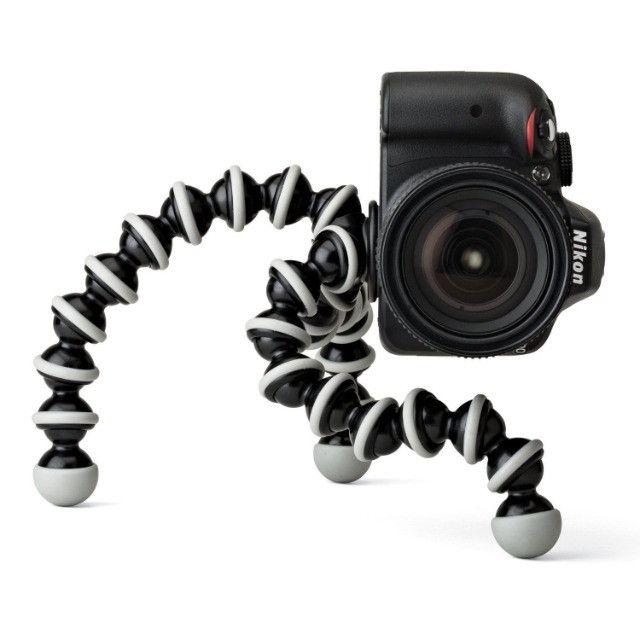 Tripé Para Câmera e Celular Octupus - Foto 4