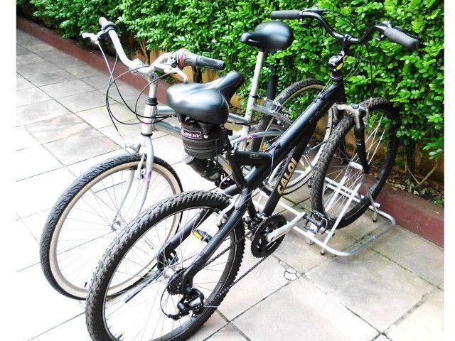 Bicicletário em Alumínio para 2 Bikes - Foto 2