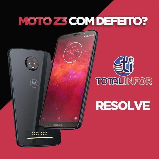 Motorola tela quebrada?