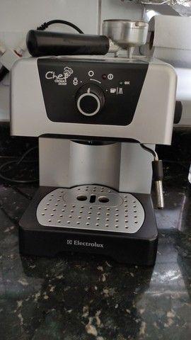 Cafeteira Espresso Crema Chef Silver - Foto 5