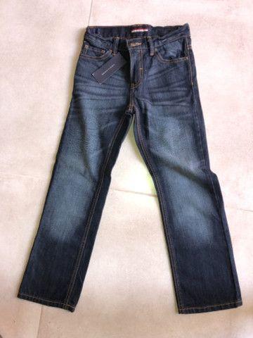 Vendo 2 calças jeans Nova Infantil - Gap e Tommy - Foto 3