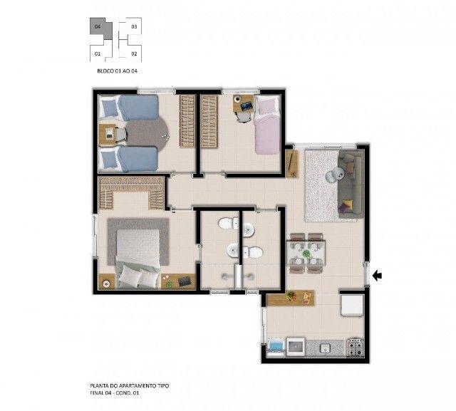 Apartamento top e com lazer completo - (31)98597_8253 - Foto 16