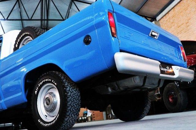 Ford F1000 1980, Mwm 229, turbinado e interculado, 5 m com Ar cond e Dh: - Foto 15