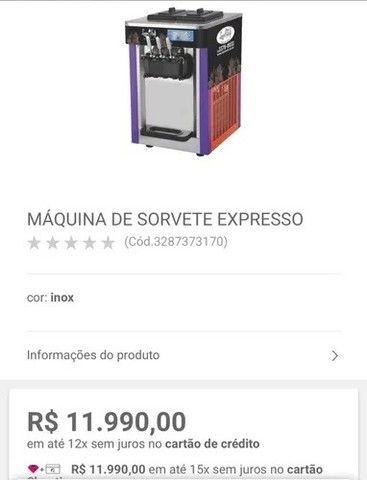 Máquina de sorvete expresso, italiano, Logro Soft L22A - Foto 4