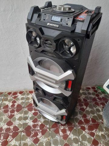 Caixa amplificada Mondial 300 whats com defeito  - Foto 2