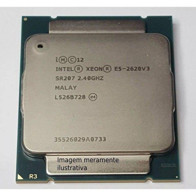 Vendo CPU lga 2011v3  Xeon 2620v3, 3.2ghz, melhor que i7 4790k, Ryzen 1600.