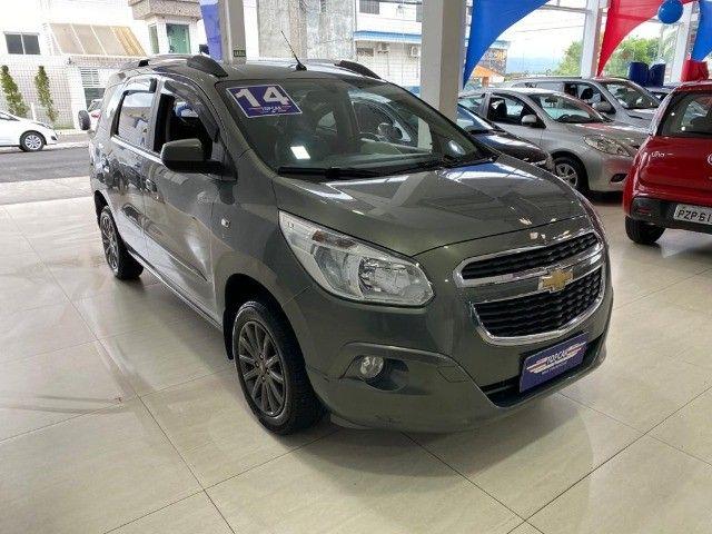 Chevrolet Spin Lt 1.8 Automática 2014 Cinza - Foto 3