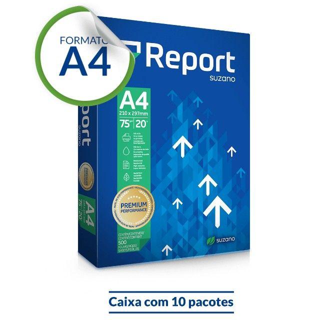 Papel Sulfite A4 Report Premium
