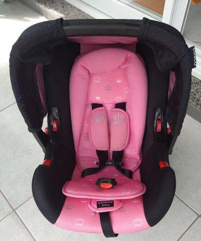 Bebê conforto cosco Nexus rosa coroa - Foto 6