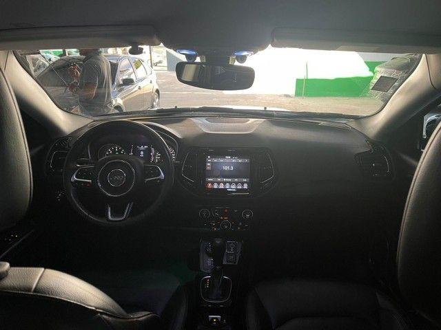 Jeep Compass 18/18 4x4 diesel night eagle c/ 4 pneus Michelin zero - Foto 6