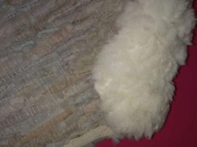 Tapete Lã de carneiro (Legítimo lã de carneiro) - Foto 3