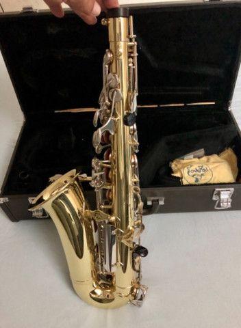 Sax alto Yamaha 23 super conservado - Foto 2
