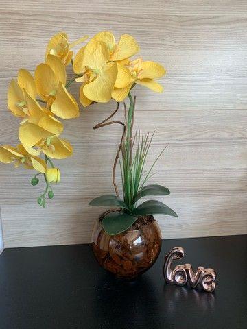Vendo arranjos de orquídea permanente 75,00 a vista  - Foto 2