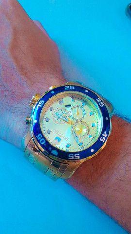 Relógio Invicta Dourado 18k  - Foto 2