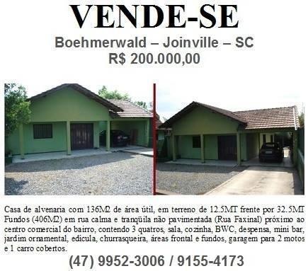 Terreno Boehmerwald Joinville SC 406 MT2