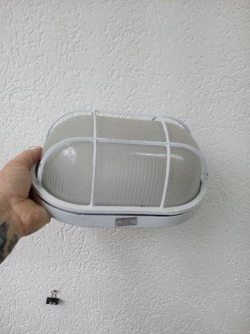Luminária oval