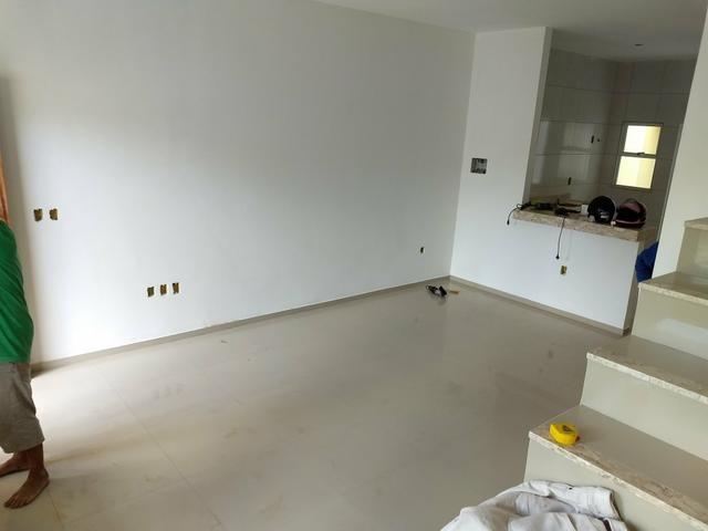 Casas duplex no Eusébio, 3 quartos 4 vagas fino acabamento - Foto 14
