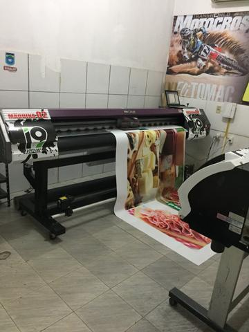 Maquina de imprimir Plotter wit color