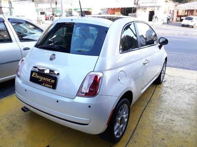 Fiat 500 Perola!! Financio Sem Ent. nao ka c3 onix 208 kwid up hb20 cooper mobi uno gol - Foto 2