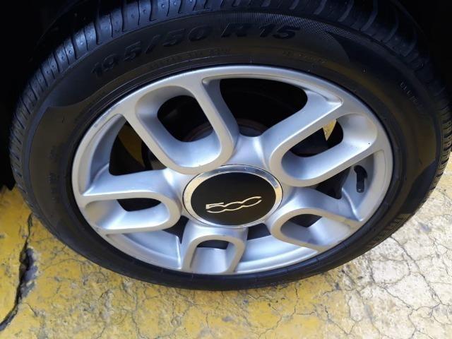 Fiat 500 Perola!! Financio Sem Ent. nao ka c3 onix 208 kwid up hb20 cooper mobi uno gol - Foto 17