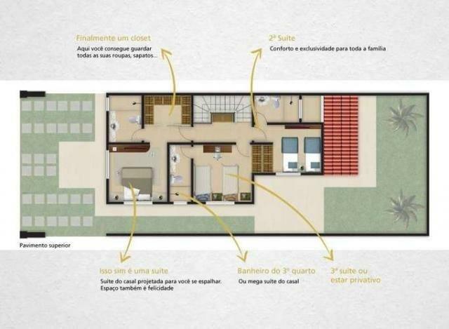 Casas em condomínio no Eusebio, pertinho do colégio ágape - Foto 12