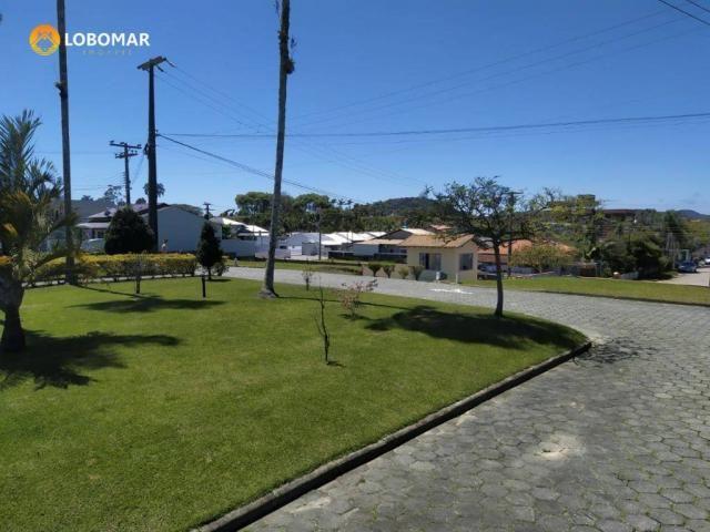 Terreno condominio fechado, 300 m² por r$ 145.000 - nossa senhora da paz - balneário piçar - Foto 8