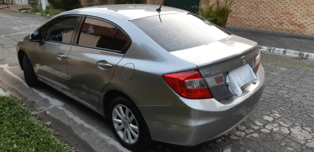 Honda Civic 1.8 LXS Flex Automático 4p - Foto 6