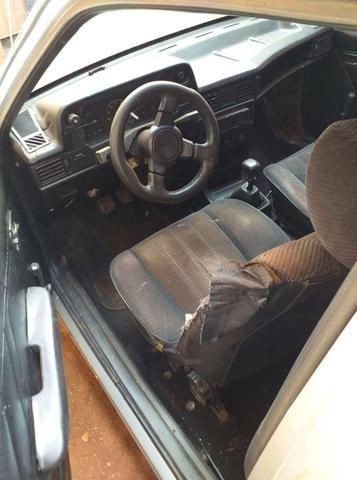 Kadett 1.8 gasolina motor zero, carro bom, pneus 15 otimo placa das nova - Foto 5