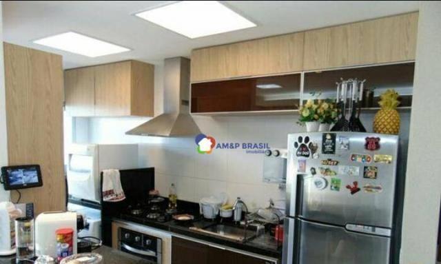 Apartamento com 2 dormitórios à venda, 69 m² por r$ 250.000,00 - parque amazônia - goiânia - Foto 18