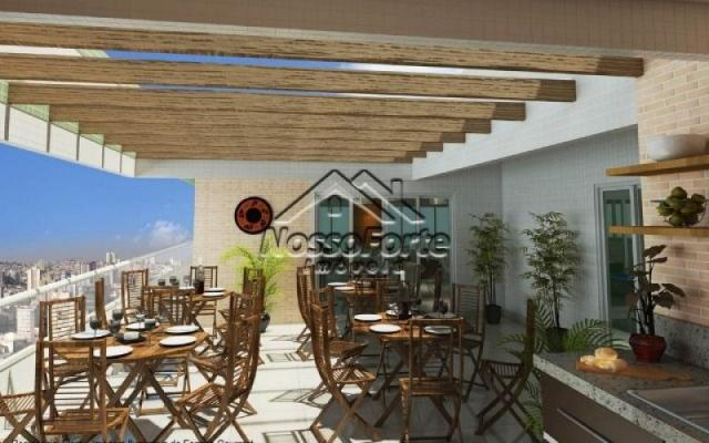 Apartamento no Canto do Forte em Praia Grande - Foto 12