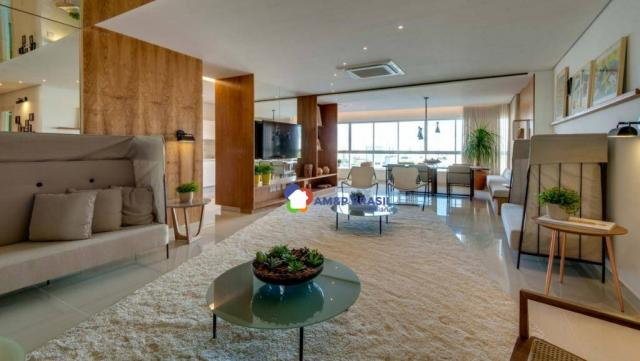 Apartamento com 3 dormitórios à venda, 178 m² por r$ 1.115.500,00 - setor marista - goiâni - Foto 5