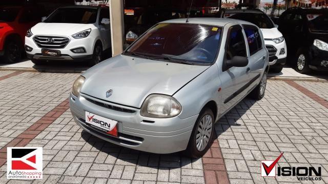 RENAULT CLIO 2001/2001 1.0 RL 16V GASOLINA 4P MANUAL