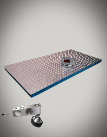 Balança De plataforma 300kg/500kg/1000kg/3000kg Ferro velho/reciclagem - Foto 3