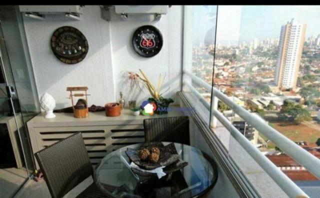 Apartamento com 2 dormitórios à venda, 69 m² por r$ 250.000,00 - parque amazônia - goiânia