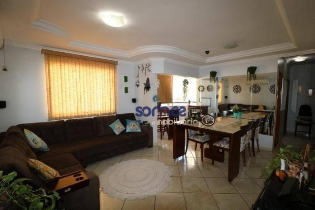 Apartamento com 3 dormitórios à venda, 95 m² por r$ 275.000,00 - jardim américa - goiânia/ - Foto 2